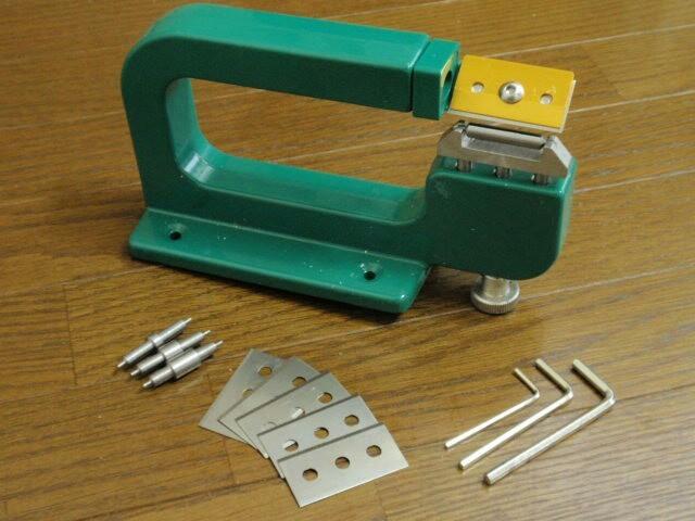 レザースプリッター 手動革漉き機 レザークラフト 工具