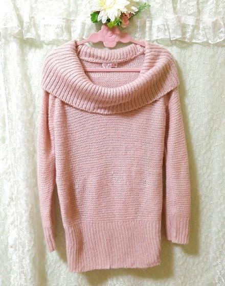 C・O・L・Z・A さくらピンクニットセーター Sakura Pink Knit Sweater,ニット、セーター&長袖&Lサイズ