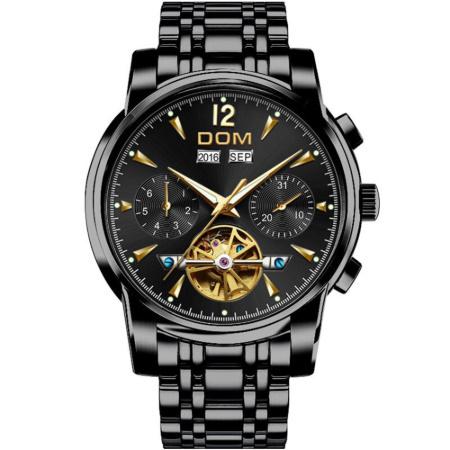 腕時計 メカニカル メンズ ウォッチ 自動巻き 男性 防水 レザーストラップ mt2260_画像1