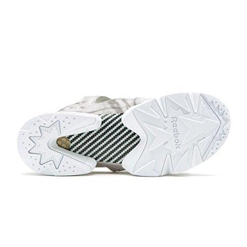 28cm●Reebok INSTAPUMP FURY SANDAL リーボック インスタ ポンプフューリー サンダル 白 灰 90s ビーチ ハイテク 名作 V69440_画像4