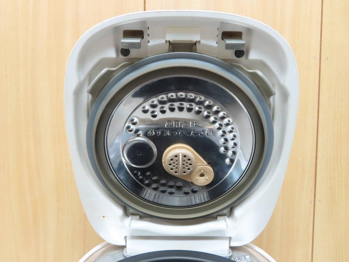 東芝 2016年製 真空圧力IH 炊飯ジャー 炊飯器 5.5合炊き 備長炭かまど釜 RC-10VQK_画像5