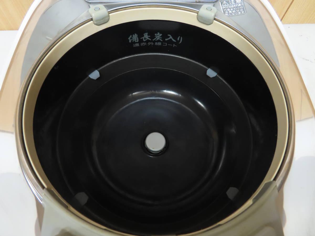 東芝 2016年製 真空圧力IH 炊飯ジャー 炊飯器 5.5合炊き 備長炭かまど釜 RC-10VQK_画像8