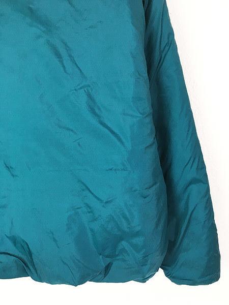 古着 90s USA製 Patagonia パタゴニア 人気 「パフボール」 フル ジップ 中綿 ナイロン ジャケット パッカブル L 古着_画像4