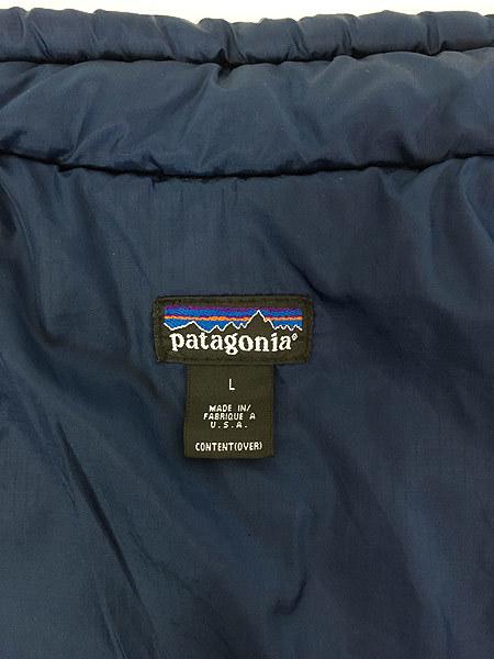 古着 90s USA製 Patagonia パタゴニア 人気 「パフボール」 フル ジップ 中綿 ナイロン ジャケット パッカブル L 古着_画像8