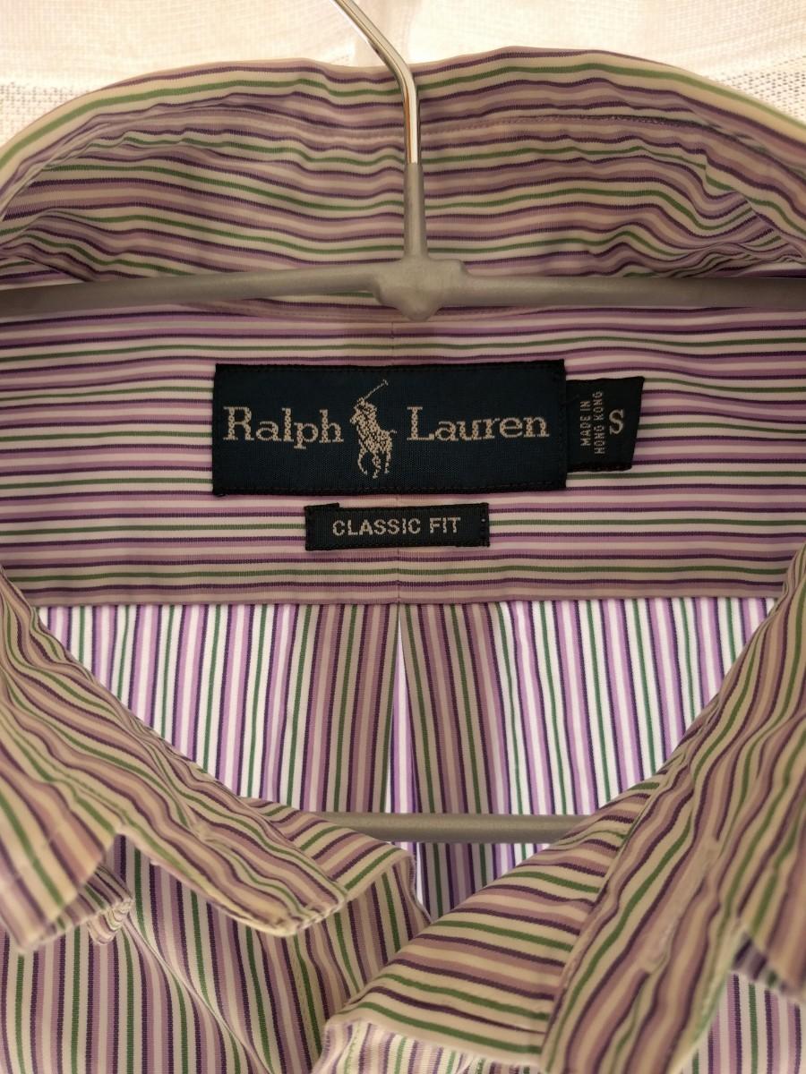 ラルフローレン ストライプ ボタンダウンシャツ 長袖シャツ