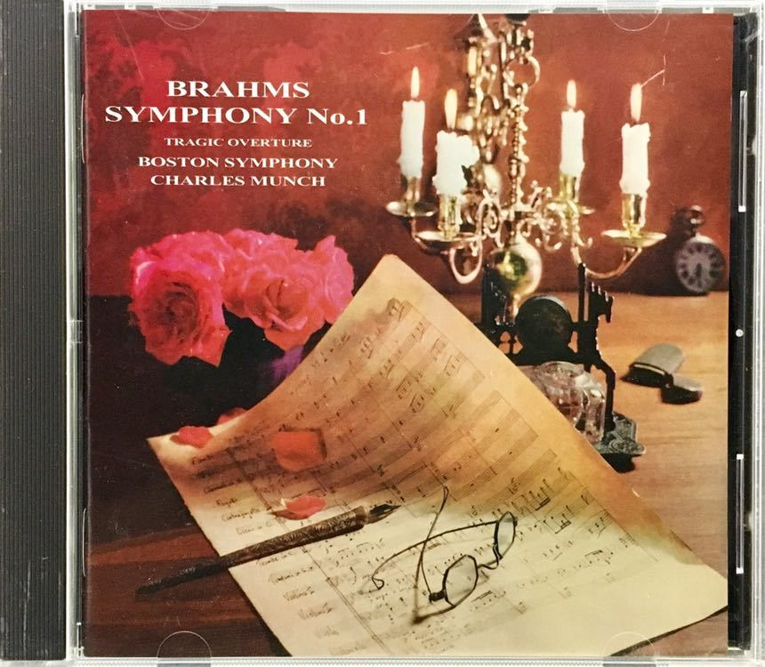 CD/ ブラームス:交響曲第1番 / ミュンシュ&ボストン響_画像1