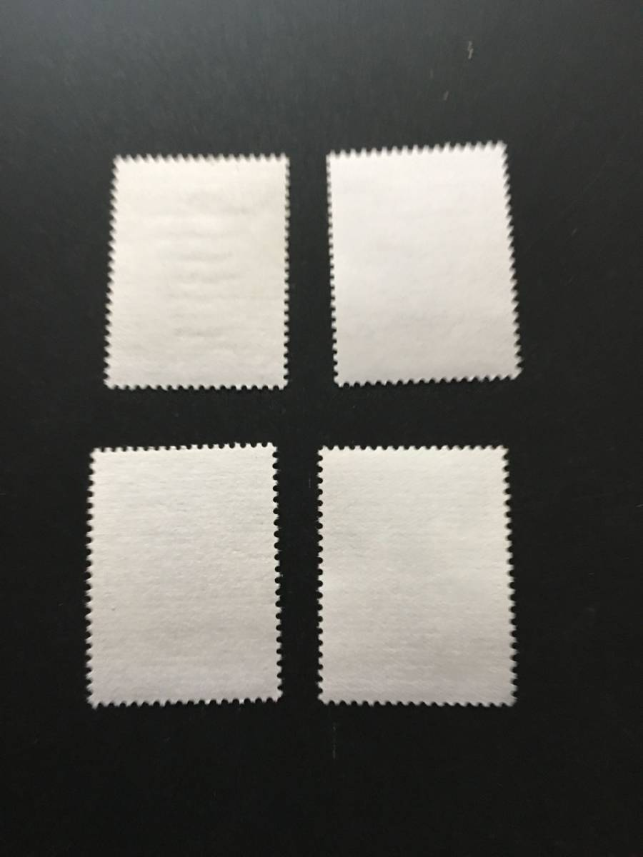★既決★中国切手 古代文学者 4種完 未使用 _画像2