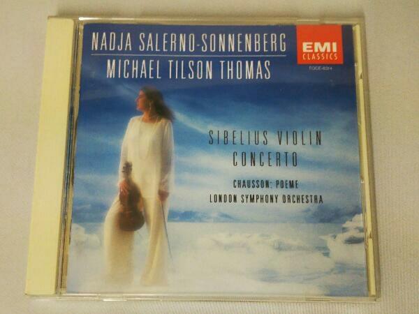 ナージャ・サレルノ=ソネンバーグ CD シベリウス:ヴァイオリン協奏曲_画像1