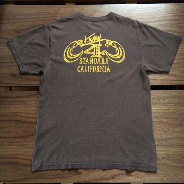 スタンダードカリフォルニア 4周年記念 Tシャツ M アナザーヘブン コラボモデル Standard California 「ANOTHER HEAVEN」ステッカー付き_画像2