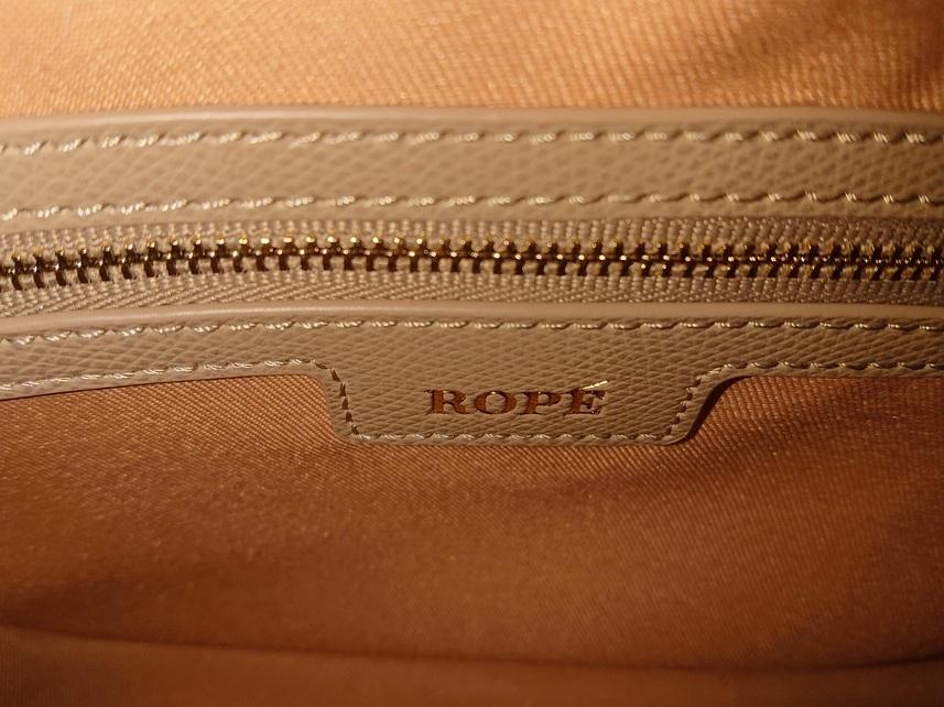ロペ ROPE 今期新品 ベージュ A4収納トートバッグ 斜めかけバッグ 2wayバック 鞄 カバン 入学 卒業 新学期 肩掛けバッグ 仕事通勤バッグ_画像5
