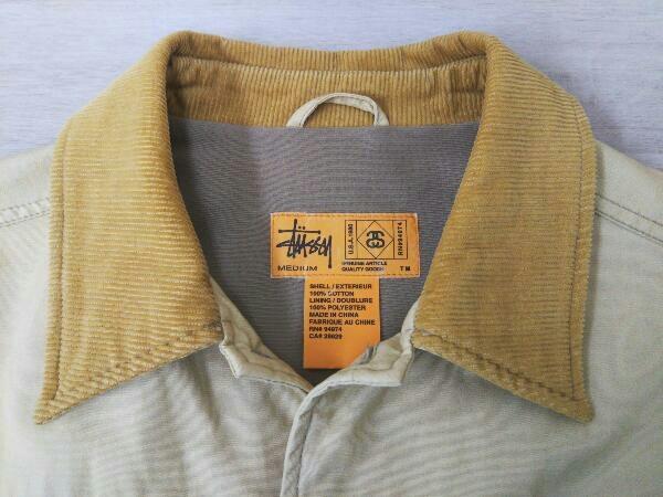 STUSSY ステューシー ジャケット Mサイズ ベージュ系_画像3