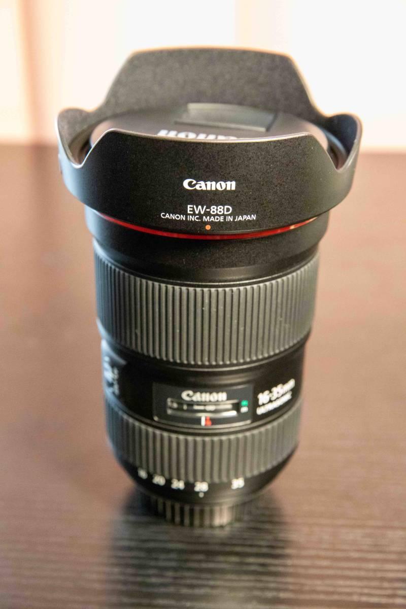 【極上美品?新古品】広角ズームレンズ Canon EF 16-35mm F2.8 L IS Ⅲ USM キャノン 大三元レンズ