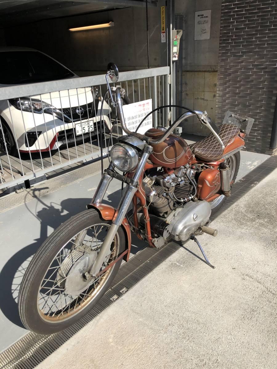 Harley-Davidson 1957 XLA_画像8