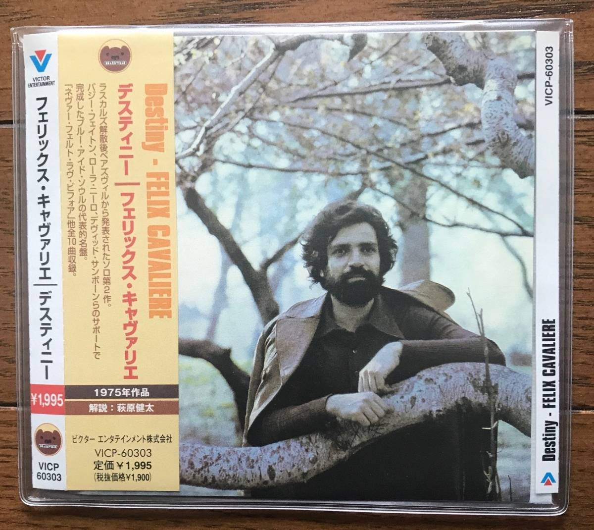 272 / FELIX CAVALIERE / Destiny / フェリックス・キャヴァリエ / The Young Rascals / 国内盤 / とてもきれい_画像1