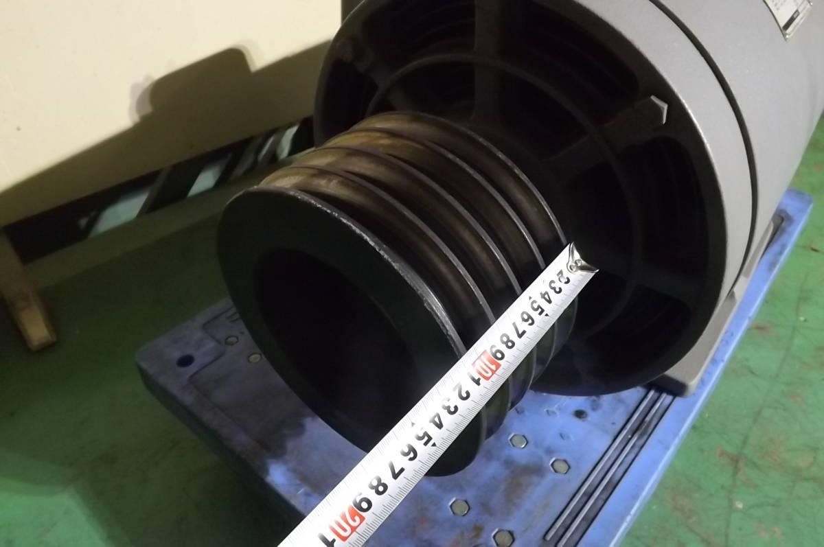 日立 400V 22KW 中古 モーター モートル 30馬力 破砕機 送風機 エアー コンプレッサー 粉砕機 押出機_画像4