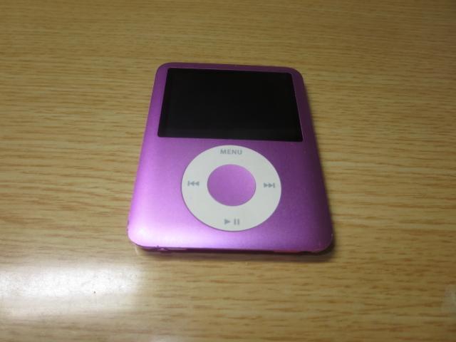 1円~最落無 iPod nano 8GB MB453J/A  ピンク 第3世代