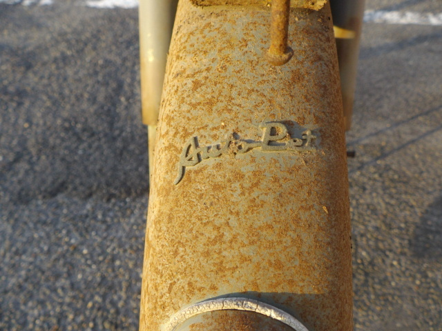 「ヤマグチオートペットAP10レストアベース(ジャンク車輌)書類付き。希少 ヒラノ BSチャンピオン ポインター トーハツアロー」の画像3