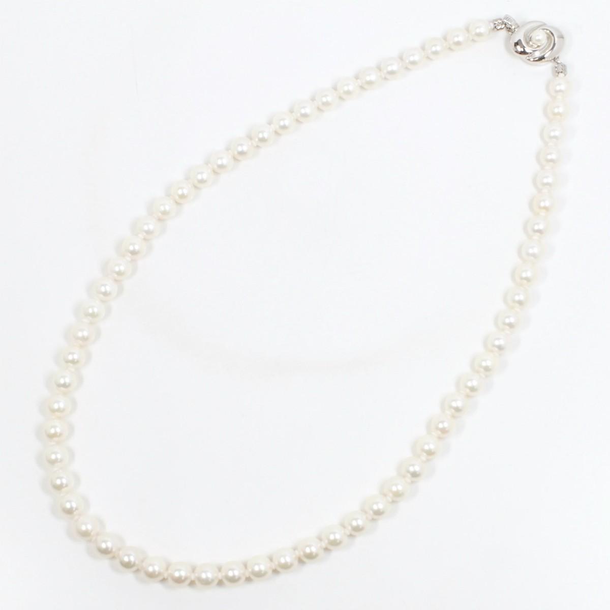 CITIZEN シチズン あこや真珠 6.5~7ミリ パール ネックレス 上質・美品_画像3
