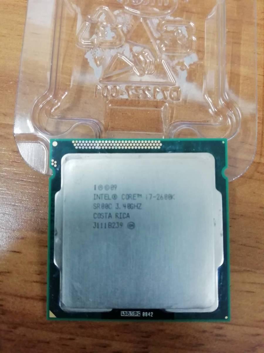 intel インテル CPU core i7-2600K 3.40Ghz SR00C 送料無料