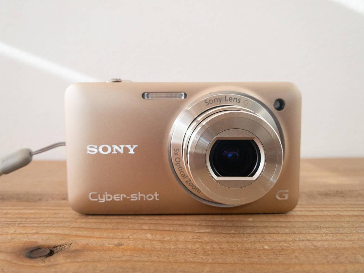 【SONY】Cyber-shot DSC-WX5 デジタルスチルカメラ バッテリー1個+充電器付き_画像2