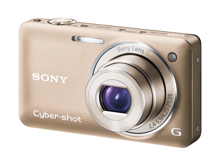 【SONY】Cyber-shot DSC-WX5 デジタルスチルカメラ バッテリー1個+充電器付き_画像1