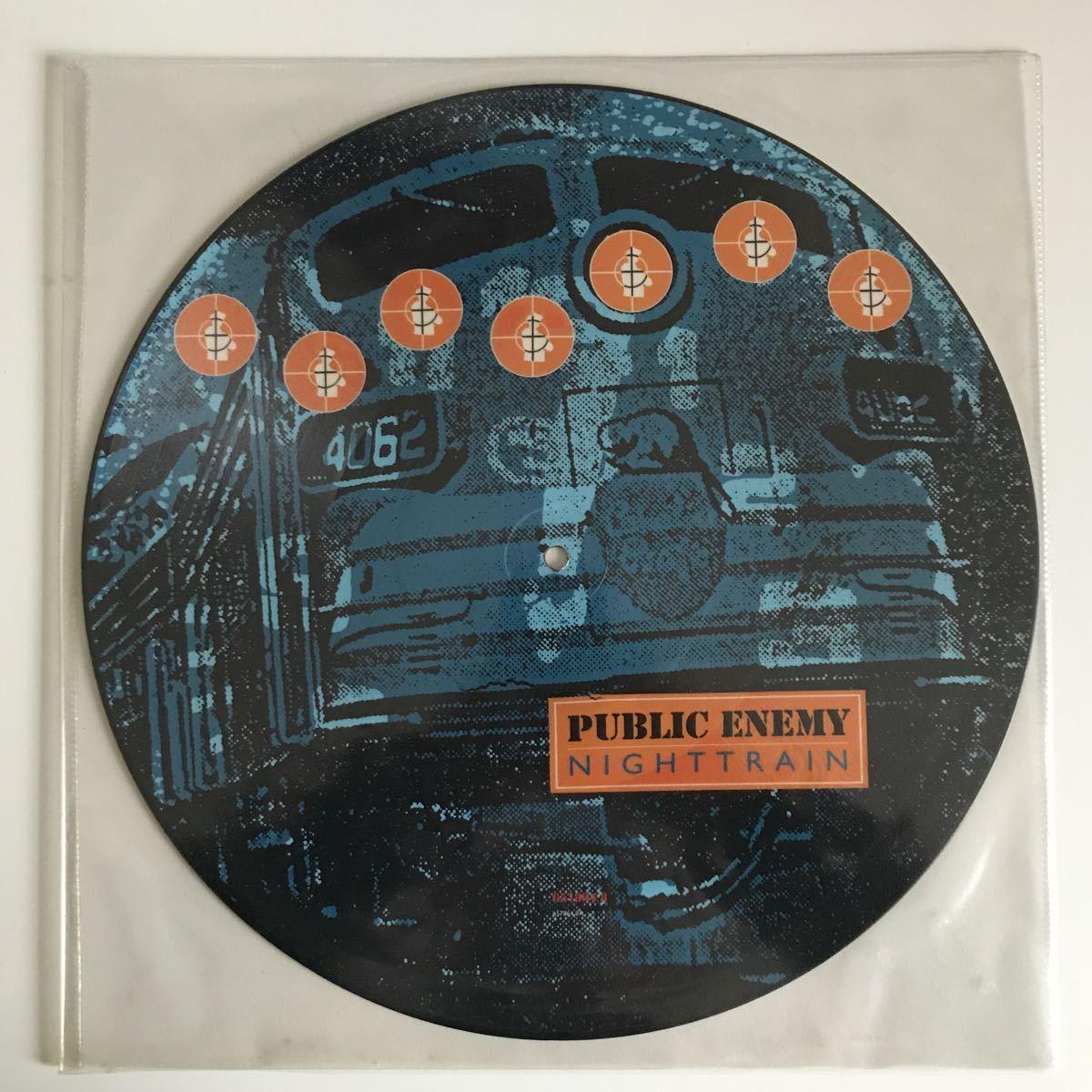 Public Enemy - Nighttrain【UK Orig.】【オリジナル】【Pete Rock】【限定ピクチャー盤】【James Brown/Blood, Sweat & Tearsネタ】_画像1