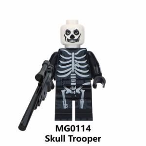 LEGO レゴ 互換 MOC ブロック TPS フォートナイト風 カスタム ミニフィグ 8体セット 武器・装備・兵器付き C!送料無料!_画像3