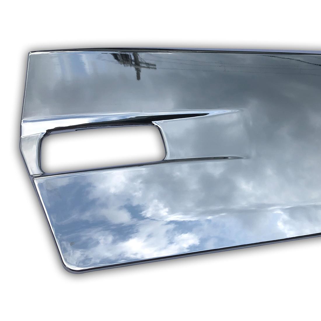 日産 UD クオン 大型 メッキ サイド ドア ガーニッシュ パネル 左右セット ブリスター 平成16年11月~ AP-T136LR_画像3