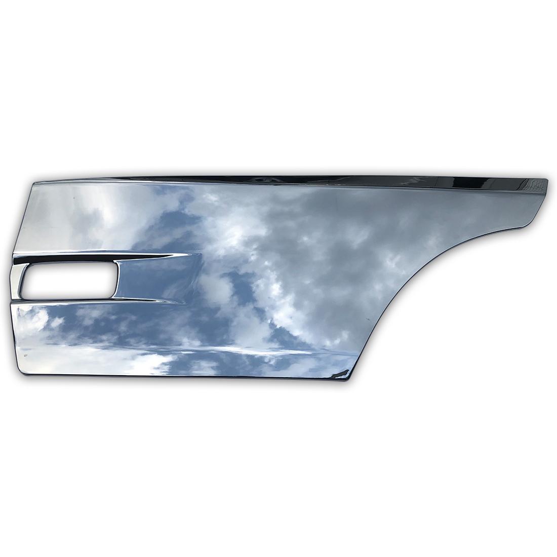 日産 UD クオン 大型 メッキ サイド ドア ガーニッシュ パネル 左右セット ブリスター 平成16年11月~ AP-T136LR_画像2