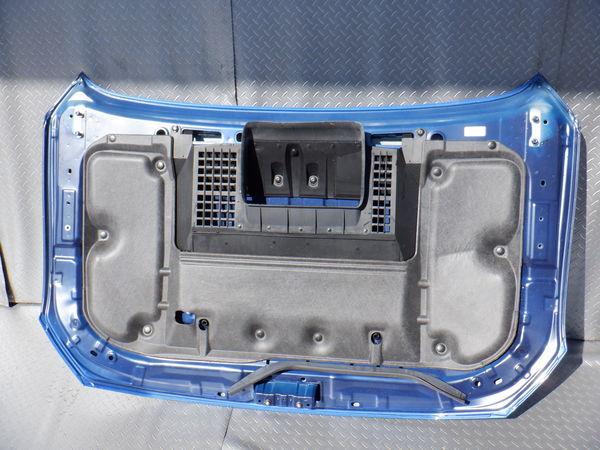 スバル純正 VMG VM4 レヴォーグ 後期 STIスポーツ ボンネット フード 即納 K7X ブルー 使用OK コラゾン カーボン エアスクープ付_画像8