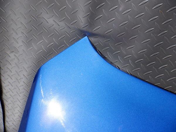 スバル純正 VMG VM4 レヴォーグ 後期 STIスポーツ ボンネット フード 即納 K7X ブルー 使用OK コラゾン カーボン エアスクープ付_画像6