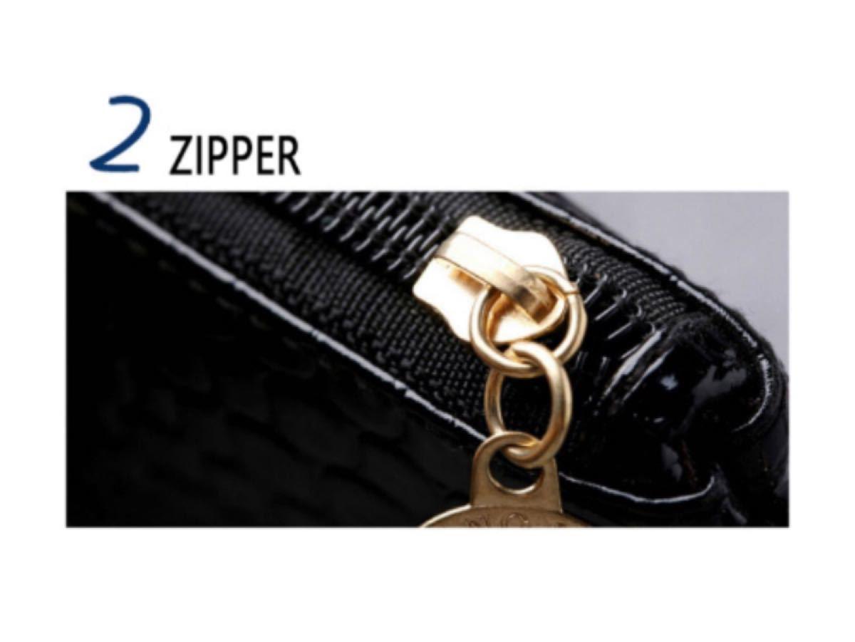 バッグ ミニショルダーバッグ 財布 ウォレットバッグ ポーチ 黒 ブラック