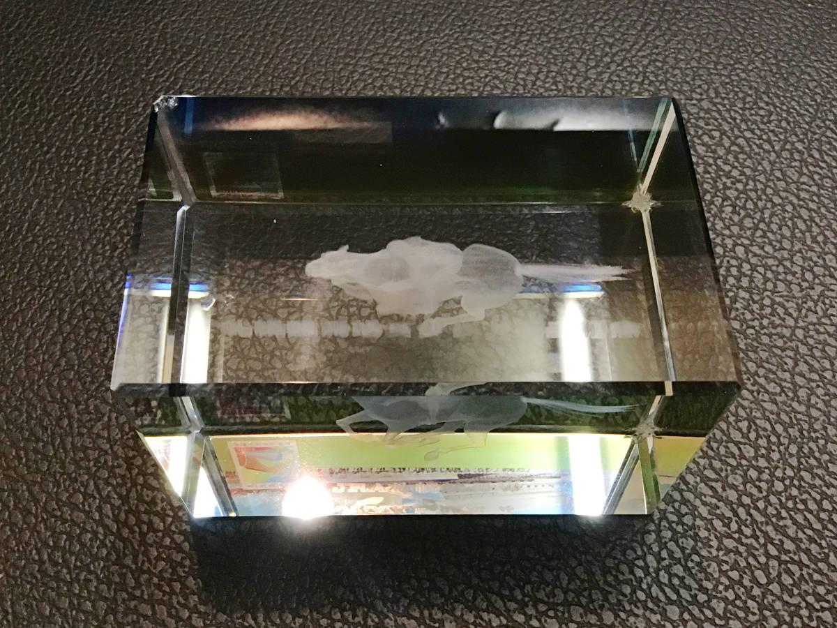 ★JRA 札幌競馬場★ 2014年7月 スタンド竣工記念 クリスタルガラス 記念品 非売品 限定品 レア ※一部破損
