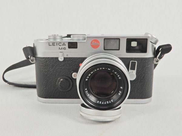ライカ LEICA M6 SUMMICRON-M 1:2/50 E39 レンズ フィルムカメラ フード フィルター 切