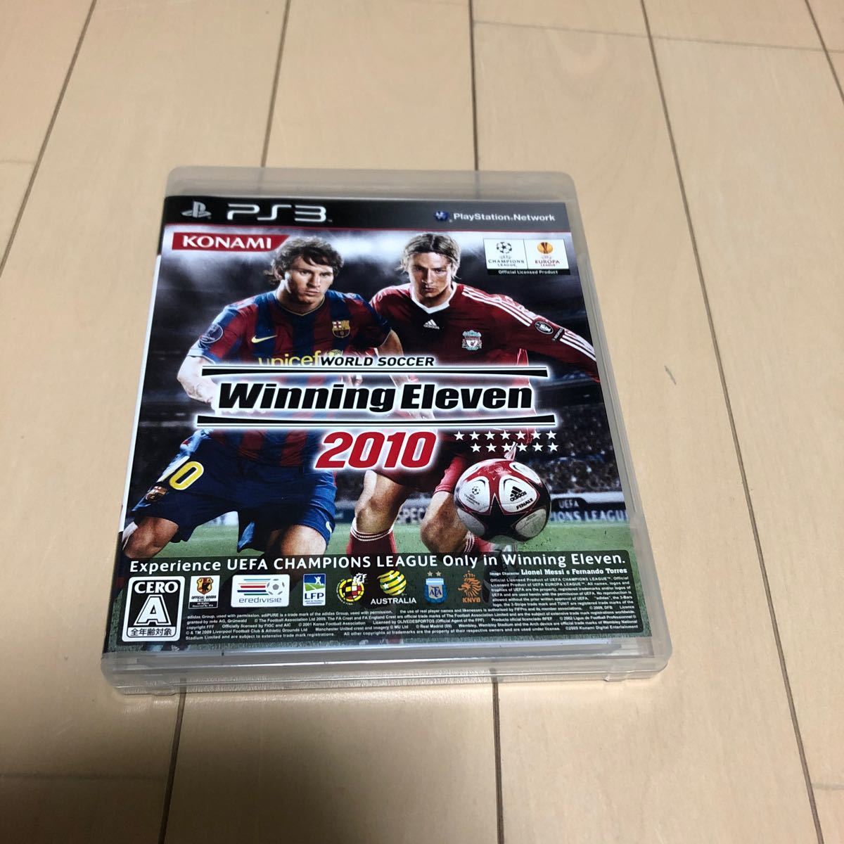 PS3  ウイニングイレブン2010