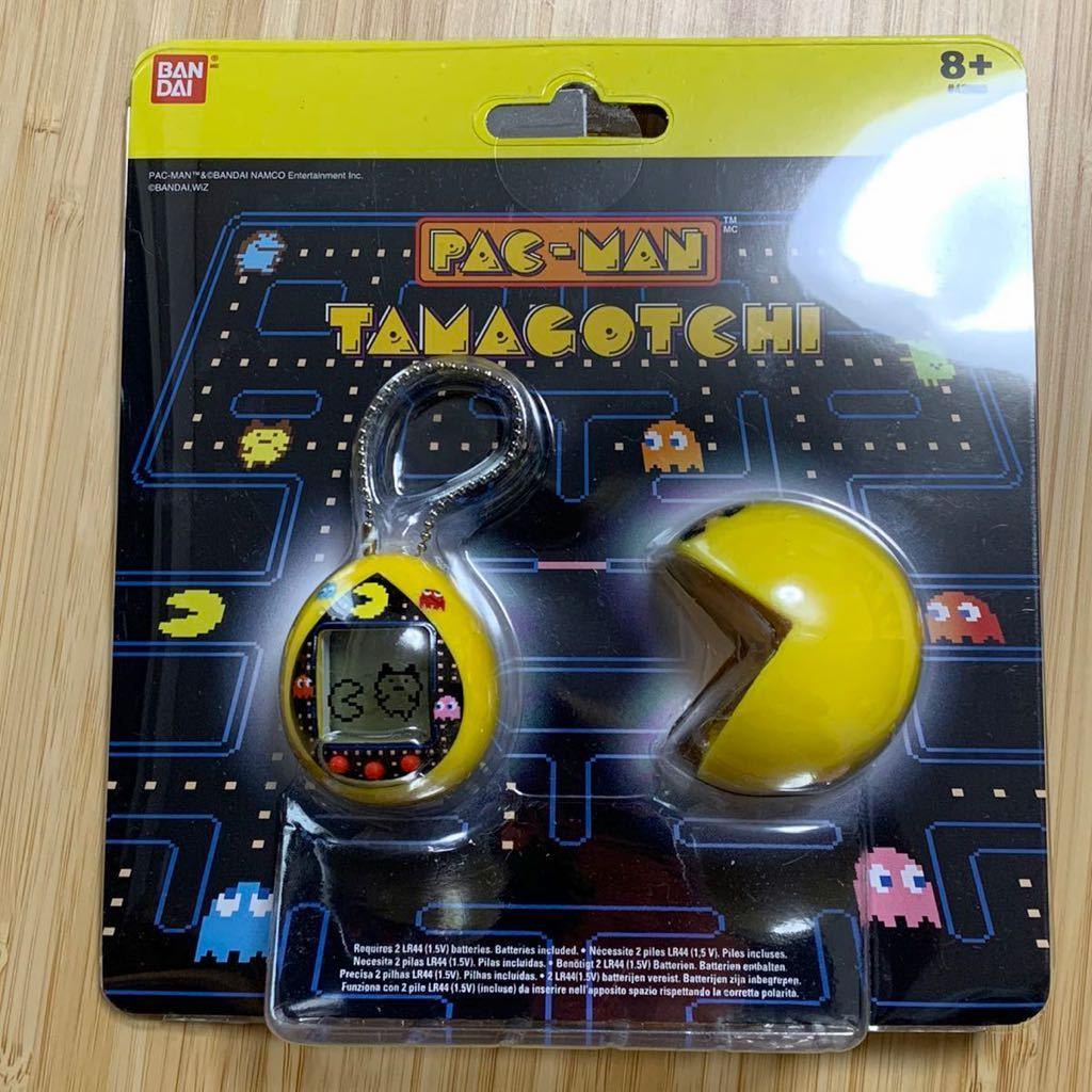 送料無料 超レア 奇妙 パックマン 40周年記念 海外 たまごっち PAC-MAN TAMAGOCHI Yellow Maze Deluxe Yellow 海外版 バンダイ BANDAI