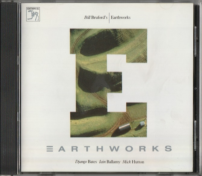 【中古・美品】Bill Bruford's Earthworks / Earthworks (輸入盤, 1987年作品) #Iain Ballamy, Django Bates, Dave Stewart_画像1