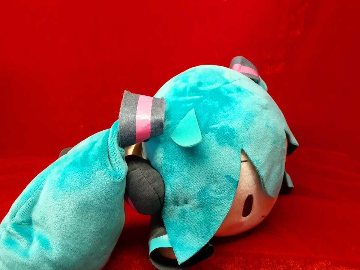 初音ミクシリーズ メガジャン寝そべりぬいぐるみ 初音ミク 【希少】