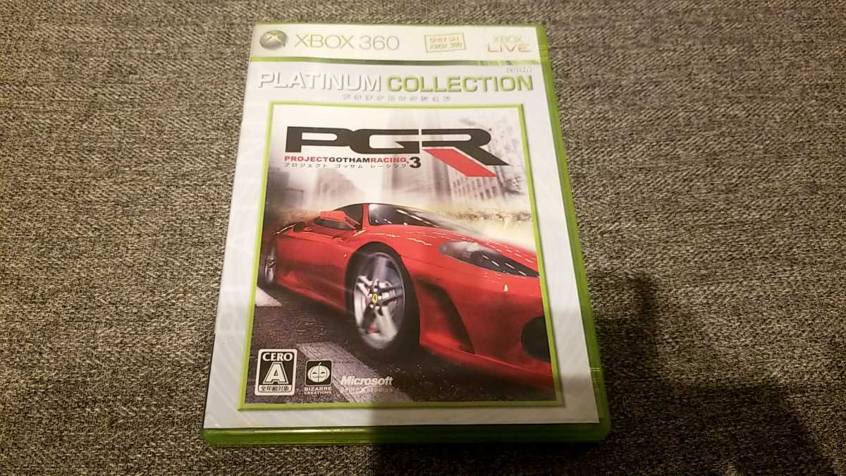 XBOX360ソフト PROJECT GOTHAM RACING 3 PLATINUM COLLECTION