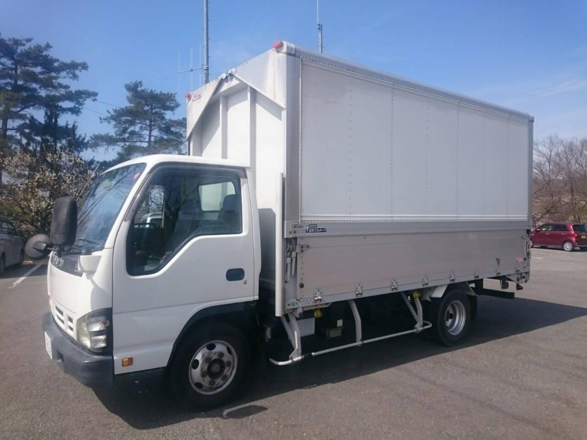 「◆車検付◆いすゞ エルフ ELF H17 ワイドキャブ ロング 2トン積載 アルミウイング車」の画像2