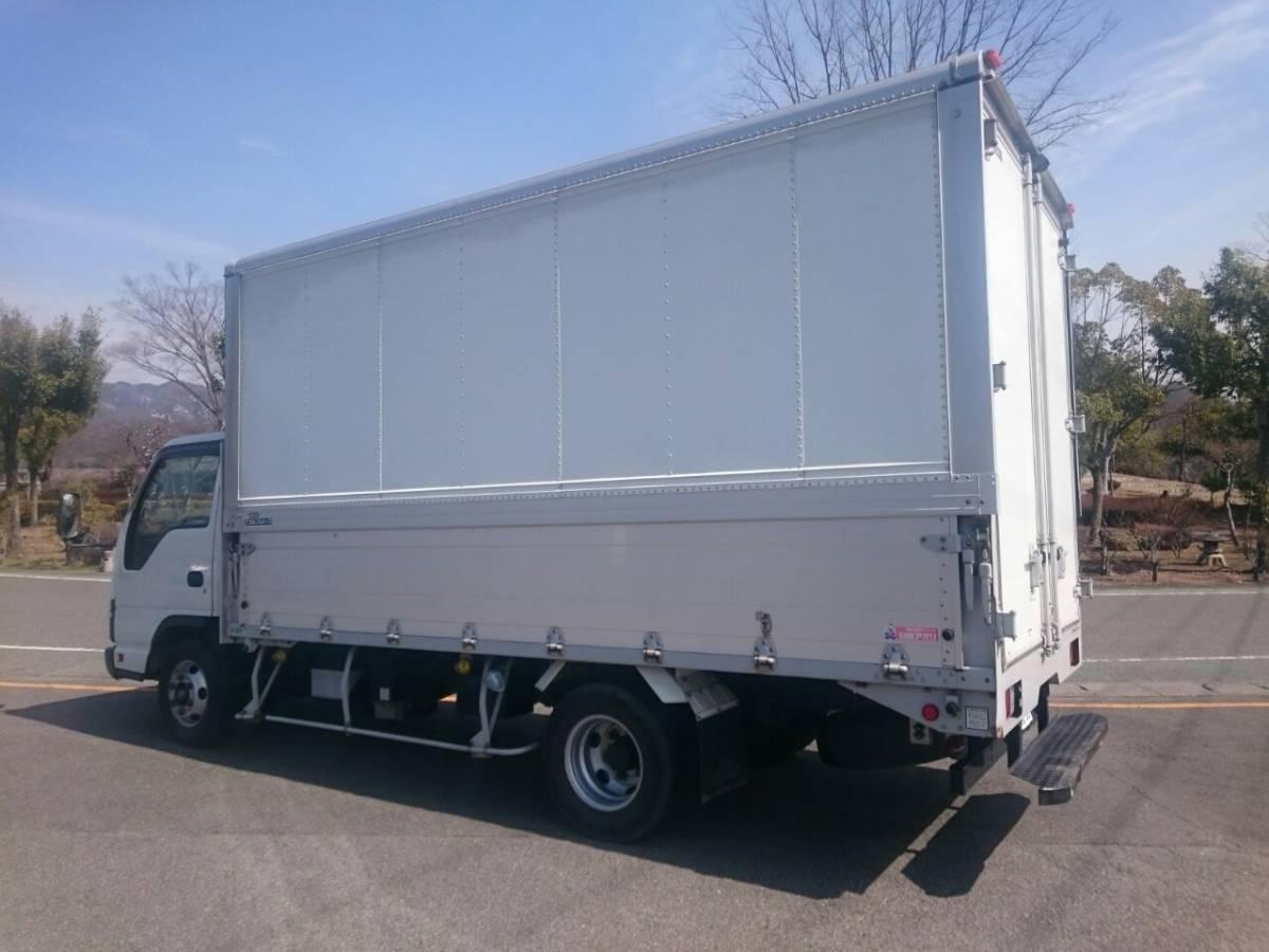 「◆車検付◆いすゞ エルフ ELF H17 ワイドキャブ ロング 2トン積載 アルミウイング車」の画像3