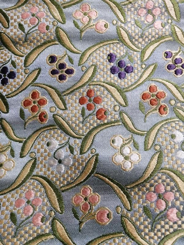 きものさらさ アンティーク 織 半幅帯 正絹 大正ロマン 唐織_画像2