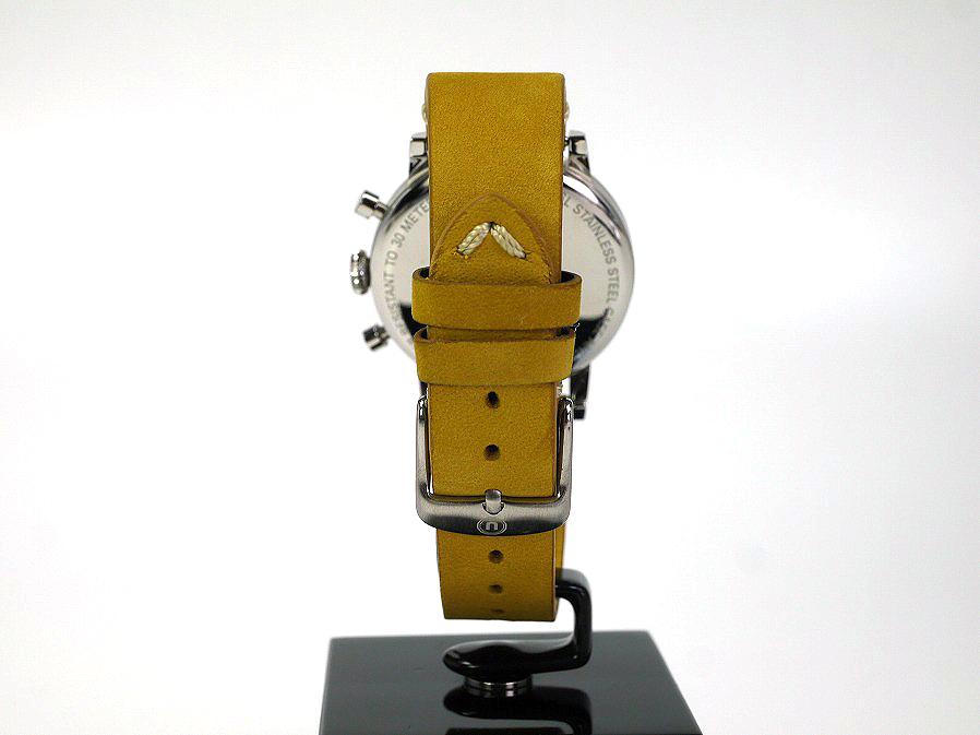 ■本物保証■アンダーン■クロノグラフ 316L メンズ腕時計■替えベルト付■レザー■_画像4