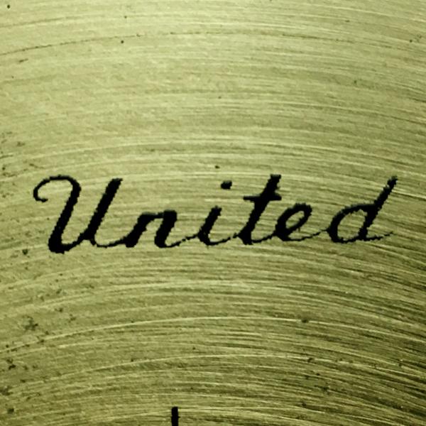 送料無料 アンティークウォールクロック UNITED/ヴィンテージ壁掛け時計アメリカ製usa製ミッドセンチュリー北欧昭和レトロオクタゴン八角形_画像4