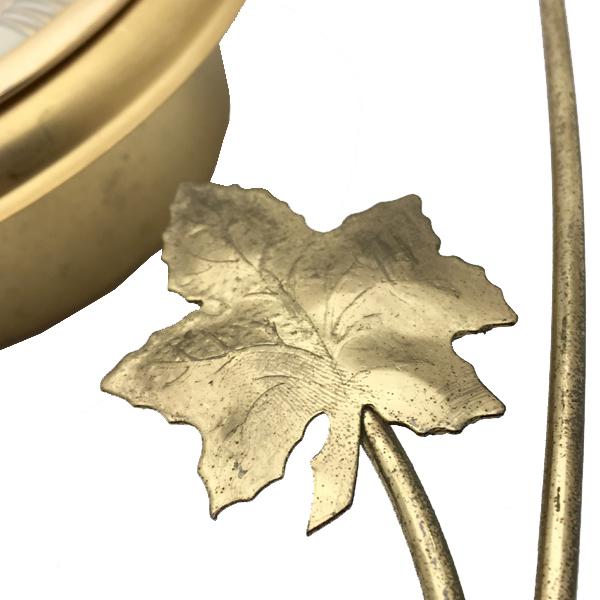 送料無料 アンティークウォールクロック UNITED/ヴィンテージ壁掛け時計アメリカ製usa製ミッドセンチュリーモダンイームズハープ琴60s70s_画像5