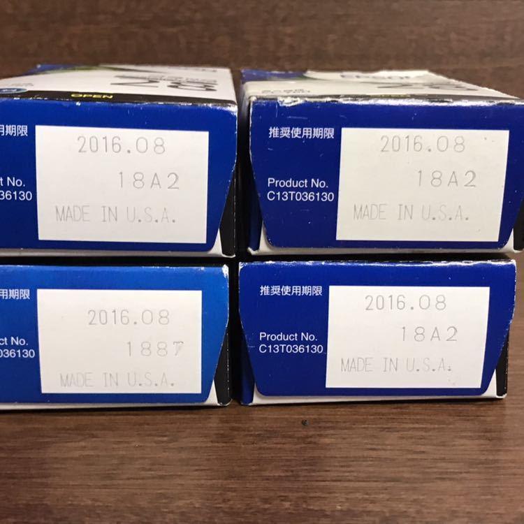 エプソン インクカートリッジ ブラック カラー 5セット まとめ 期限切れ EPSON エプソン純正インク 純正インクカートリッジ_画像3