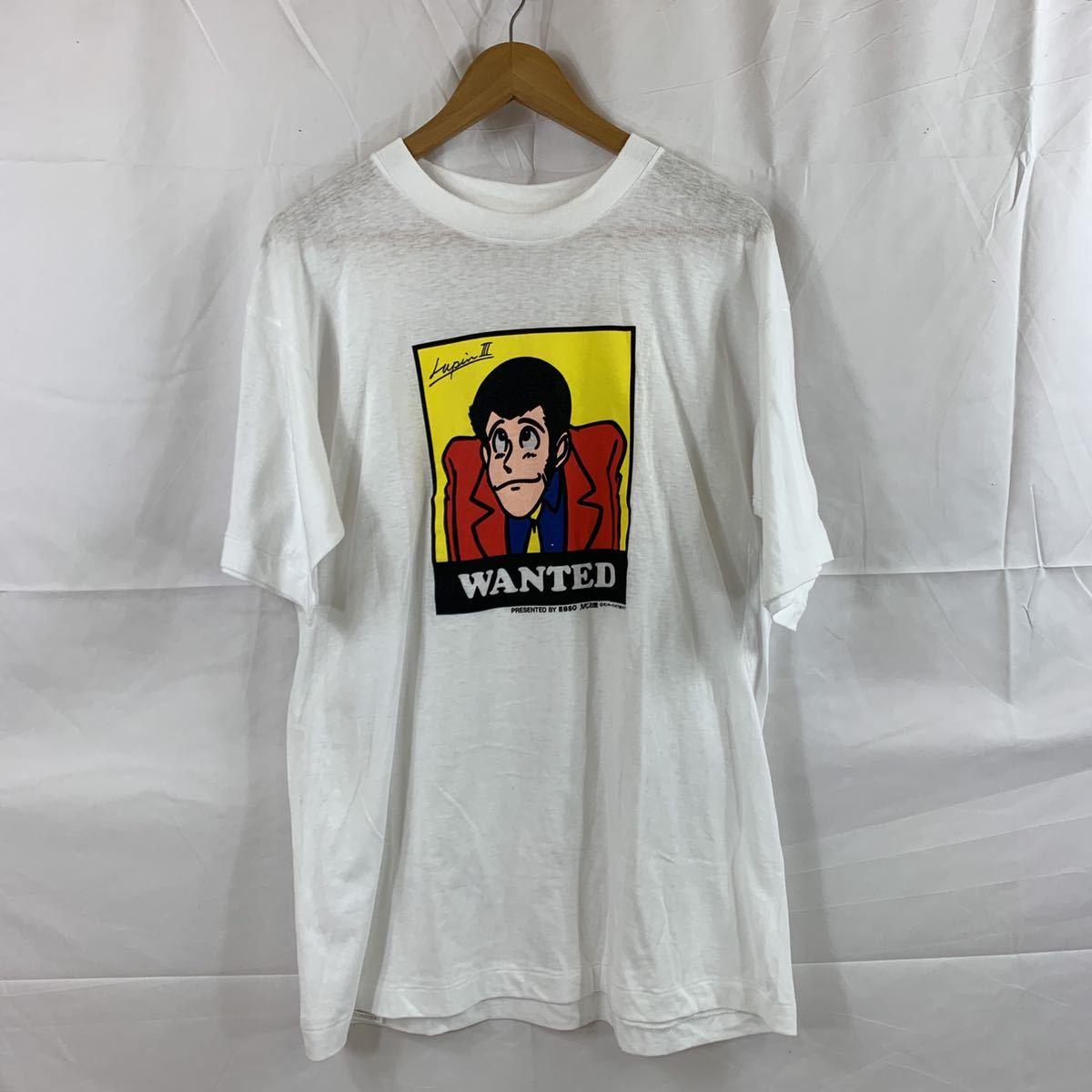 ★ レア 非売品 ESSO エッソ ノベルティ ルパン三世 Tシャツ モンキーパンチ SIZE/LL ★