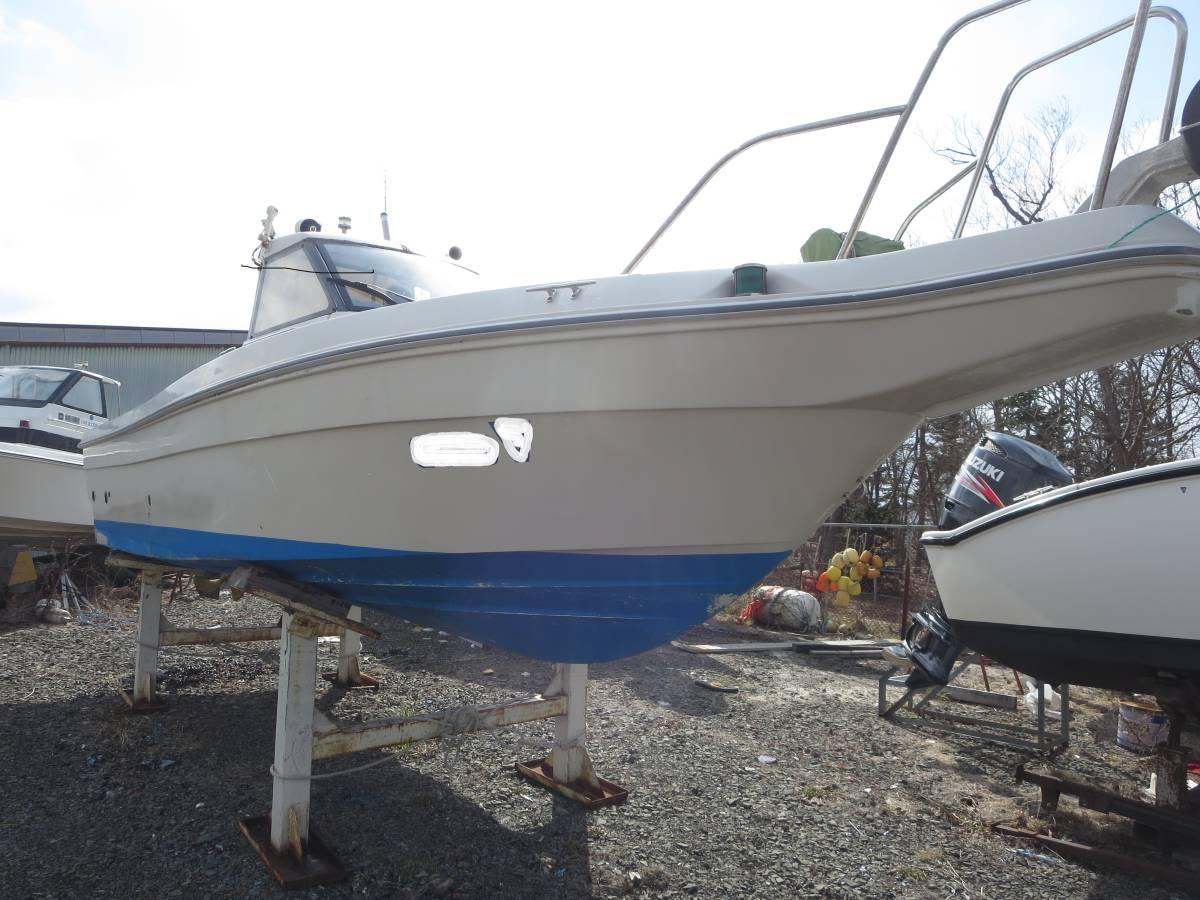 「貴重艇 ヤンマー EX25 シャフト艇 フル装備 ヒーター付き H9Y 4800H」の画像1