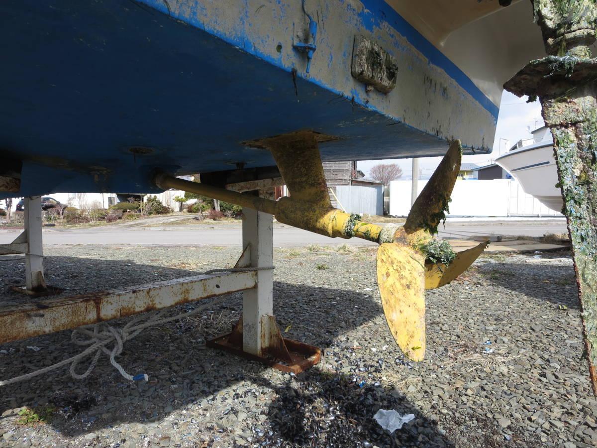 「貴重艇 ヤンマー EX25 シャフト艇 フル装備 ヒーター付き H9Y 4800H」の画像2