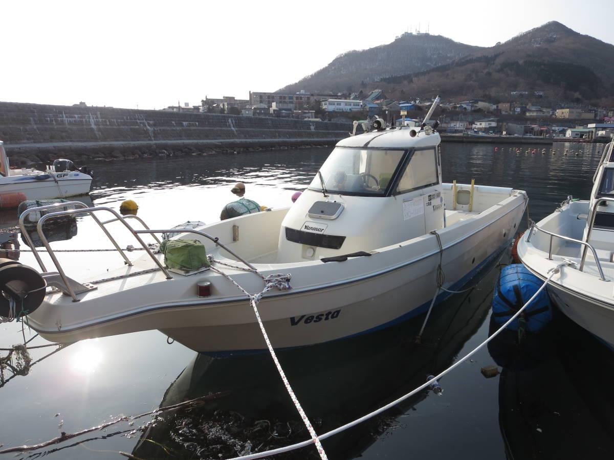 「貴重艇 ヤンマー EX25 シャフト艇 フル装備 ヒーター付き H9Y 4800H」の画像3